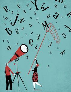 Iker Ayestaran: ilustrazioa, ilustración: letras