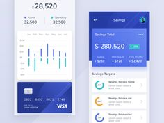 Money Management App by Riko Sapto Dimo for Orely on Dribbble The Effective Pictures We Offer You About health App Design A quality picture can tell you many things. You can find the most beautiful pi Dashboard Mobile, Data Dashboard, Mobile App Ui, Ui Design Mobile, App Ui Design, Dashboard Design, Design Design, Graphic Design, Website Design Inspiration