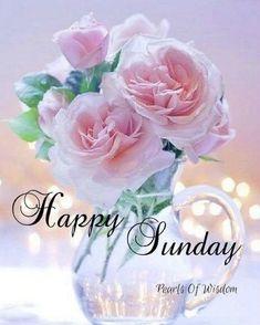 Sunday Morning Images, Happy Sunday Images, Good Morning Happy Sunday, Happy Sunday Quotes, Blessed Sunday, Good Morning Good Night, Sunday Prayer, Morning Morning, Saturday Morning
