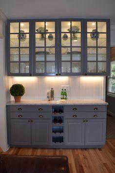 :: Spicy Chicken + Sweet Potato Bowls :: - The Sarcastic Blonde Kitchen Redo, New Kitchen, Kitchen Remodel, Kitchen Cabinets, Küchen Design, Interior Design, Crack Cake, Built In Bar, New Homes