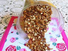 SPLENDID LOW-CARBING BY JENNIFER ELOFF: BEST, SIMPLEST NUTTY AND CRUNCHY GRANOLA