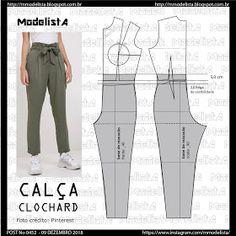 ModelistA: POST No 0452 CLOCHARD PANTS