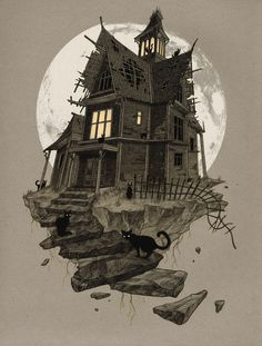 Lots of gothic, adult, macabre artwork at the link. The Beautiful Macabre World of Lenka Šimečková | The Dancing Rest