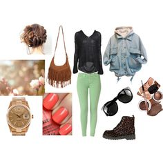 """""""Weekend"""" by doraveraseres on Polyvore"""