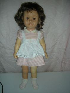 Chatty Cathy doll that I had in the 1960s. I still have her but she does not talk anymore. Have her original clothes too. JFB 04-26-13)