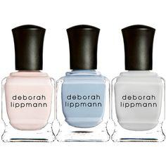 Deborah Lippmann Nail Polish found on Polyvore featuring beauty products, nail care, nail polish, makeup, nails, beauty, cosmetics, fillers, no color and deborah lippmann nail polish