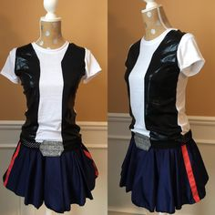 Han Solo Inspired Running/Athletic Skirt and t-shirt top. Skirts are made to order and will require your exact measurements to custom make