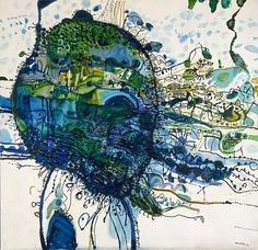 Five bells, (1963) by John Olsen :: The Collection :: Art Gallery NSW