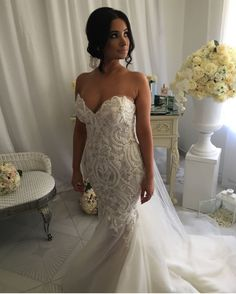 Sweetheart strapless wedding gowns with embroidery  do not have to cost a fortune.  We make custom #weddingdresses for women from all over the globe that are affordable and made of quality. Our dress design firm can also make #replicas of haute couture dresses too.  So if what you want is out of your budget we can help with an inspired version or replica of your favorite design.  Just email us!