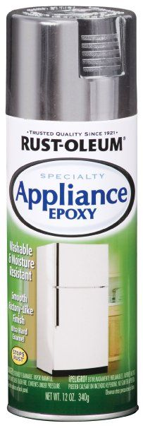 Appliance epoxy.   To refinish the top of the dryer or change the color of your appliances.