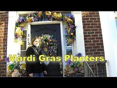 Decorate Your Door For Mardi Gras | Southern Charm Wreaths