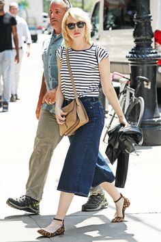 Emma Stone Wore the Jeans Everyone Has an Opinion On via @WhoWhatWearUK