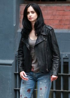 """Krysten Ritter Films """"A.K.A. Jessica Jones"""" In NYC"""