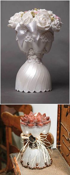 Plastic Bottles And Their Creative Applications - Best Craft Projects Art Plastic, Reuse Plastic Bottles, Plastic Bottle Flowers, Plastic Bottle Crafts, Recycled Bottles, Recycled Crafts, Diy Craft Projects, Diy And Crafts, Crafts For Kids