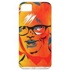 Diana James artist silk screen portrait by Carter iPhone SE/5/5s Case - portrait gifts cyo diy personalize custom