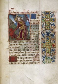 Book of Hours Language(s): French; Latin, France, 1450-1499 Cambridge, Harvard University, Houghton Library,  MS Lat 257