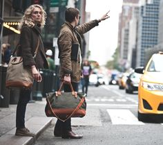 leather weekend bag - Google Search