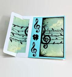 Hey, I found this really awesome Etsy listing at https://www.etsy.com/listing/227301289/musical-birds-on-the-wire-card