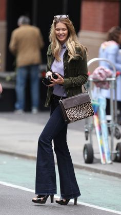 The Best Street Style Inspiration & More Details That Make the Difference Trendy Outfits, Cool Outfits, Fashion Outfits, Sport Outfits, Womens Fashion, Elle Macpherson, Cool Street Fashion, Street Style Women, Tall Women