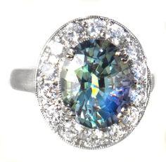 Tanzanite Engagement Ring, Engagement Rings, Jewelry Cleaning Solution, Tanzanite Jewelry, Rare Gems, Girls Jewelry, Teal Colors, Sapphire Diamond, White Gold Diamonds
