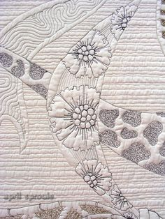 Noshi | Sproule Studios: Original fiber art design by April Sproule.