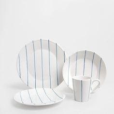 Zara Home España, Decoration Design, Earthenware, Kitchen Gadgets, Things To Buy, Dinnerware, Sweet Home, House Design, Plates