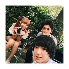 "Hinako Sano x Gouki Maeda x Tomohisa Yuge. Aug/16/'15 [Preview, Ep.7] https://www.youtube.com/watch?v=CODDPN_PGt8 Kento Yamazaki, Masataka Kubota, Hinako Sano, Yutaka Matsushige. J drama series ""Death Note"", 08/02/'15 [Ep. w/Eng. sub] http://www.dramatv.tv/search.html?keyword=Death+Note+%28Japanese+Drama%29"