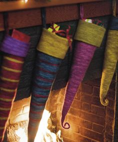 Interesting variation of Christmas stockings