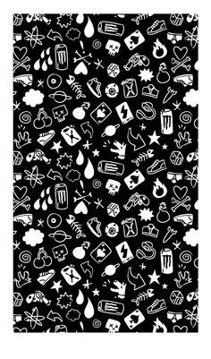 Ed Grace : Freelance Illustrator in London, UK Black And White Wallpaper, Black Aesthetic Wallpaper, Aesthetic Wallpapers, Emo Wallpaper, Couple Wallpaper, Whatsapp Background, Hd Cool Wallpapers, Hypebeast Wallpaper, Cyberpunk Art