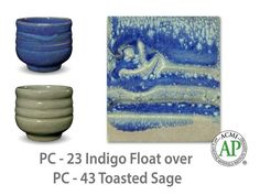 Toasted Sage is an opaque, warm gray glaze that has subtle, frothy tones of pink and green. This glaze layers very well with other Potter's Choice glazes- parti Ceramic Techniques, Pottery Techniques, Glazing Techniques, Glazes For Pottery, Pottery Mugs, Ceramic Pottery, Ceramics Projects, Clay Projects, Ceramics Ideas