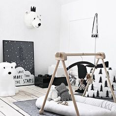 Monochrome love by @mitliversmukt . . #babygym #kidsdecor #kidstyle #nursery #nurserydecor #nurseryinspo #home #style #kids #expecting #baby #babyroom #room #nurserydesign #newmom #newborn #babies #nurseryinpiration #inspo #nurseryideas #kidsrooms #thatsdarling #interiors #interiordecor #interiordesigner #dreamhome #onetofollow #homelove #beautifulhomesofinstagram