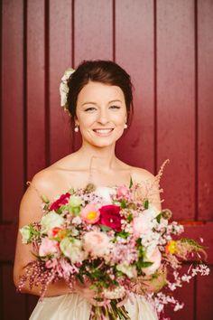 Kirsty's natural Flaxton Gardens wedding makeup