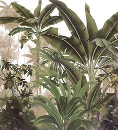 Paysages 200x220 - Panneau Malabar L200xH220 cm - 2 lés de 100 cm - Ultra mat