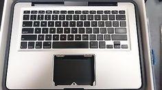Apple MacBook Top Case and Backlit Keyboard Part 661-5856