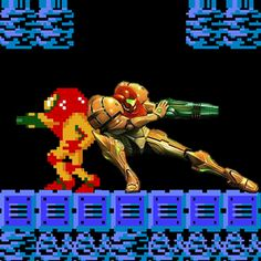 Samus and Samus | 16 Video Game Characters Posing With The Old Versions Of Themselves