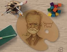 "Check out new work on my @Behance portfolio: ""Sigmund Freud..."" http://be.net/gallery/51125671/Sigmund-Freud"