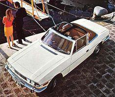 Original Triumph Stag Advert