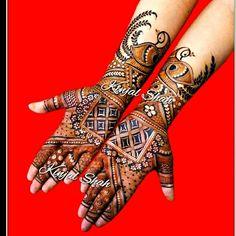 Palm Mehndi Design, Mehndi Design Pictures, Best Mehndi Designs, Mehndi Images, Bridal Mehndi Designs, Bridal Henna, Mehndi Tattoo, Henna Mehndi, Menhdi Design