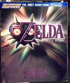 The Legend of Zelda: Majora's Mask--Official Nintendo Player's Guide by M Arakawa