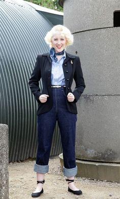 Retro find of the week: Freddies of Pinewood Teddy girl jeans