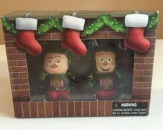 DISNEY-Park-Vinylmation-3-034-Prep-and-Landing-Lanny-and-Wayne-Set-of-2-Christmas