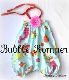 DIY baby romper from pillow cases   Will someone please make me this if I have a girl?!!!!