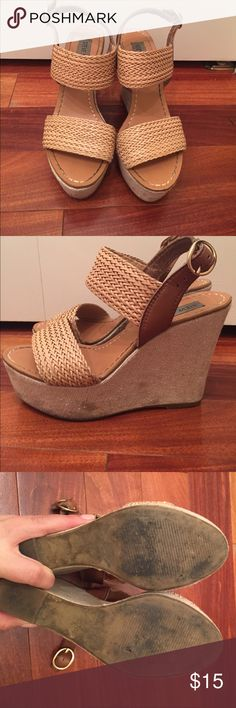 Worn with LOVE but PLENTY of life. STEVE MADDEN WEDGES Worn with LOVE but plenty of life. Steve Madden Shoes Wedges