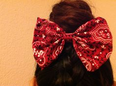 Cow girl bow
