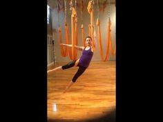 Aerial Yoga Tutorial - YouTube