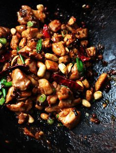 Kung Pao Chicken Recipe--Why not make this Chinese restaurant staple at home? You'll feel a lot less guilty about eating it!