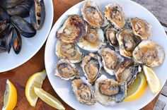 The Surprising Thing You Have To Grill Before Summer Ends... Grilled Shellfish with Garlic-Chile Butter