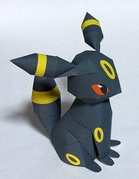 Umbreon from Pokemon  http://tenpepakura.cocolog-nifty.com/blog/cat38034326/index.html