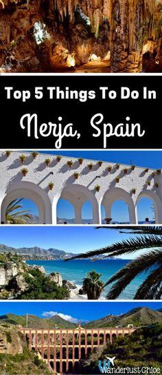 Top 5 Things To Do In Nerja, Spain