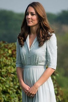 Kate Middleton durante visita a Singapura